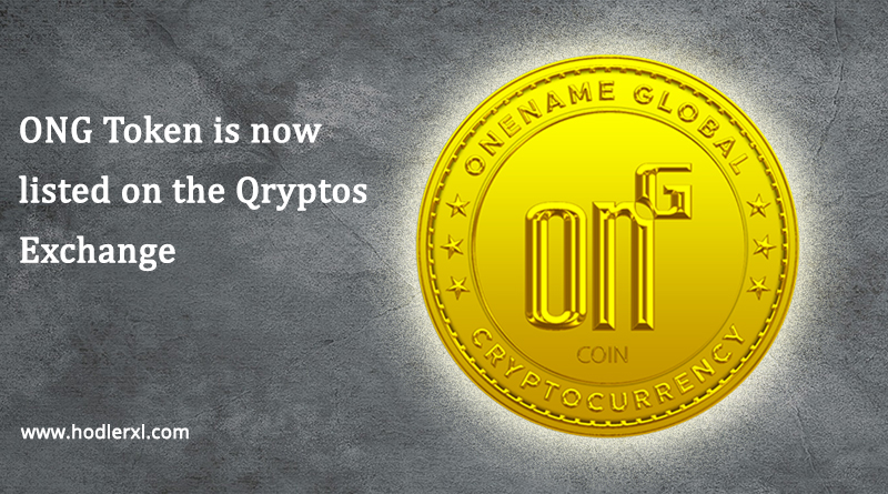 Cryptocurrency ONG