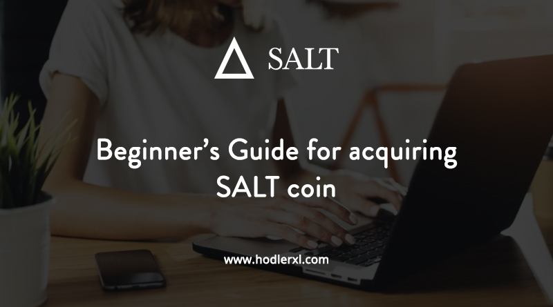 Cryptocurrency SALT