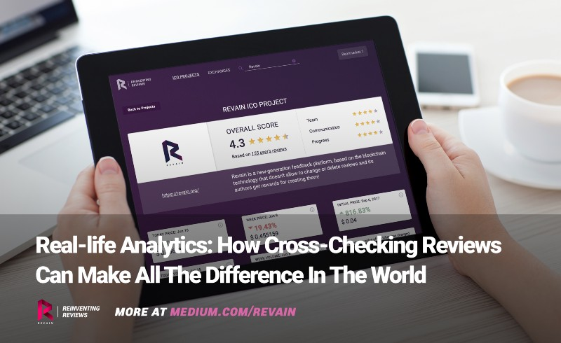 how Revain cross-checking works