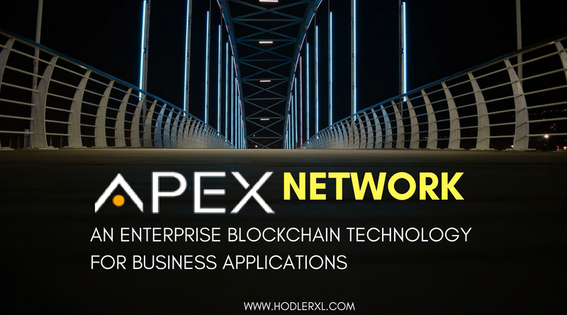 Apex Network Enterprise Blockchain Technology Business Applications