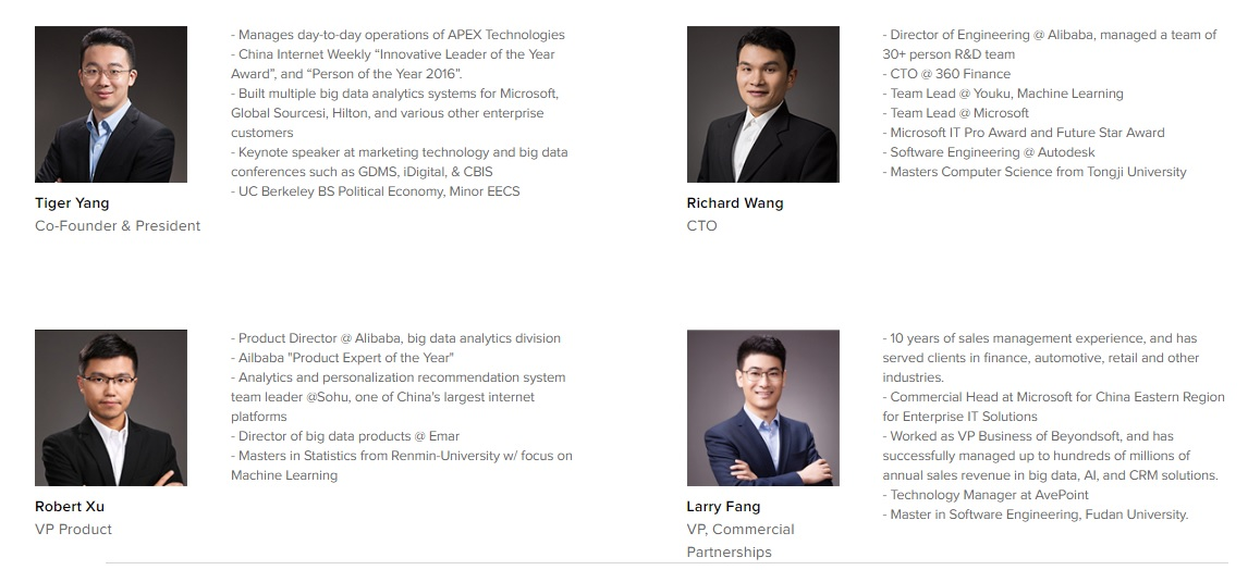 Apex Network Team