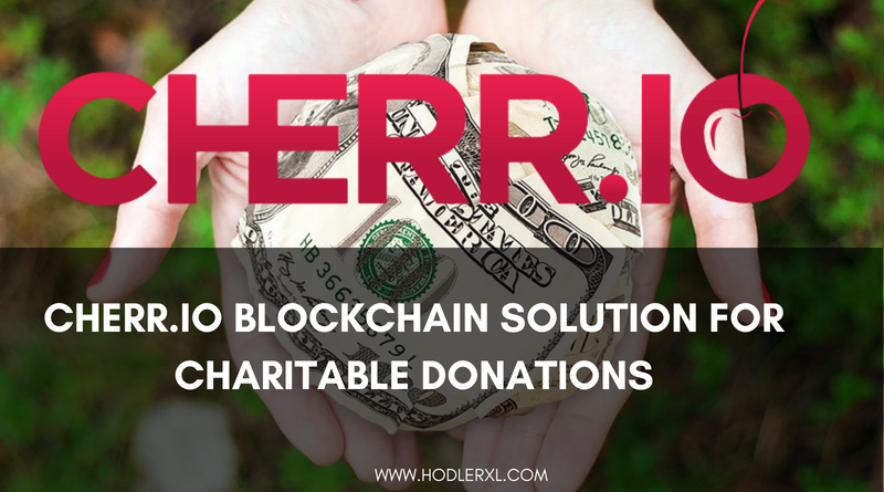 Cherr.io Blockchain Solution For Charitable Donations