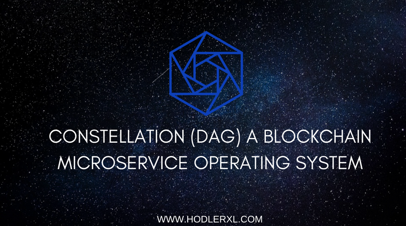 Constellation (DAG) Blockchain Microservice Operating System