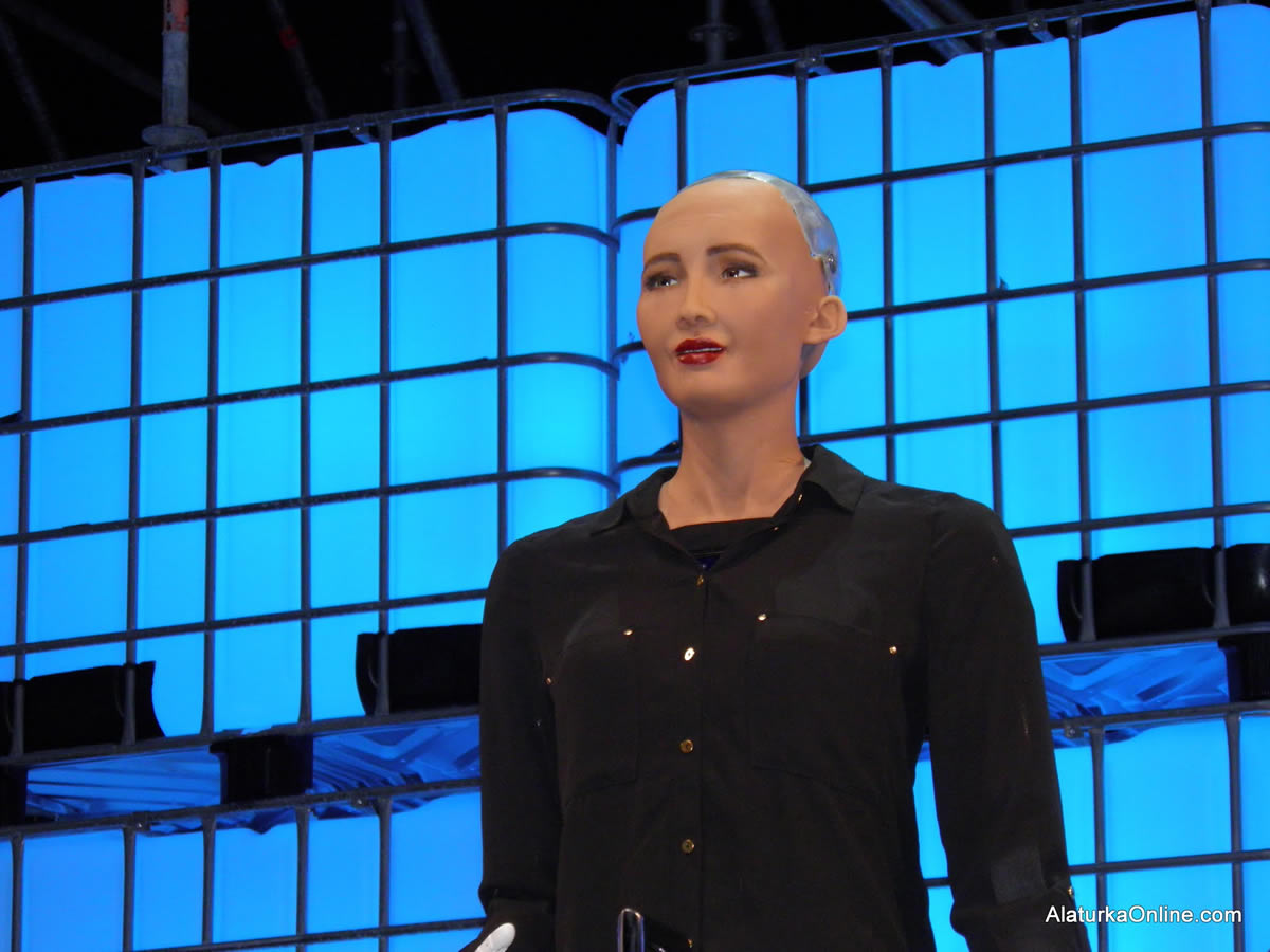 Sophia the human-like robot