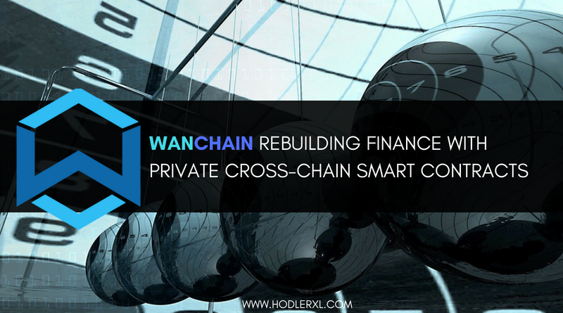 WanChain Rebuilding Finance With Private Cross-Chain Smart Contracts