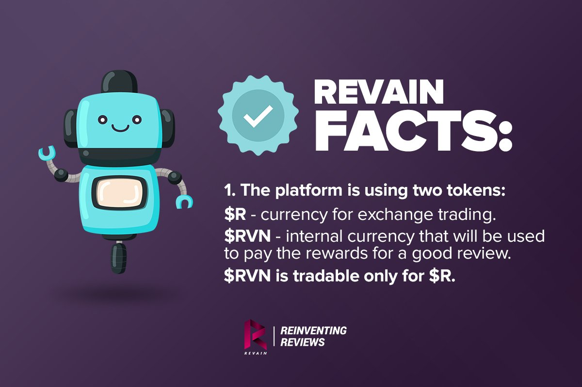 RVN and R tokens