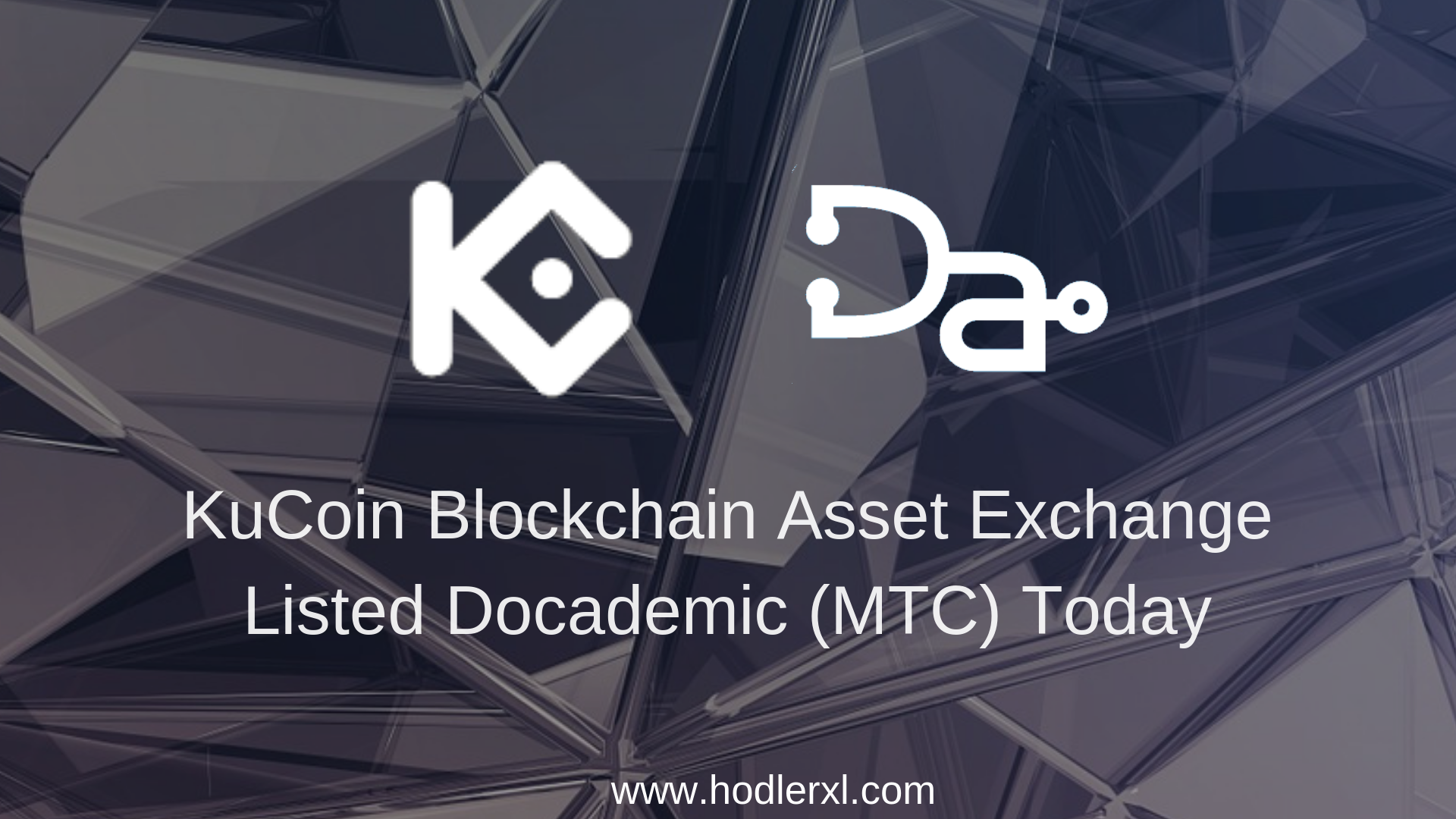 KuCoin Blockchain Asset Exchange Listed Docademic (MTC) Today