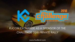 KuCoin Exchange As A Sponsor Of The Challenge 2018 Private Rally