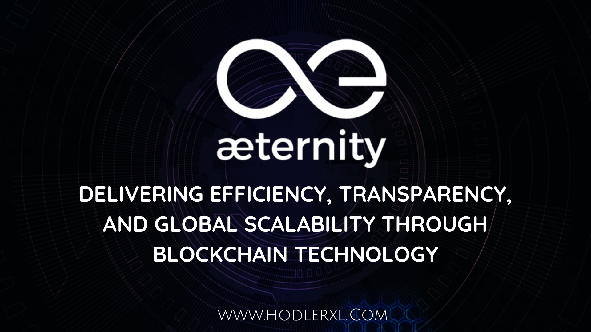 aeternity blockchain Global Scalability