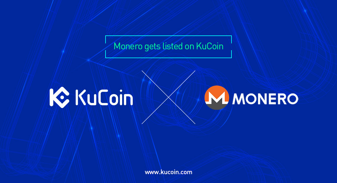kucoin listed monero xmr